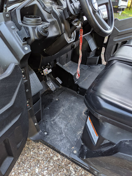 Honda Pioneer Floorboard Mod Kit Black