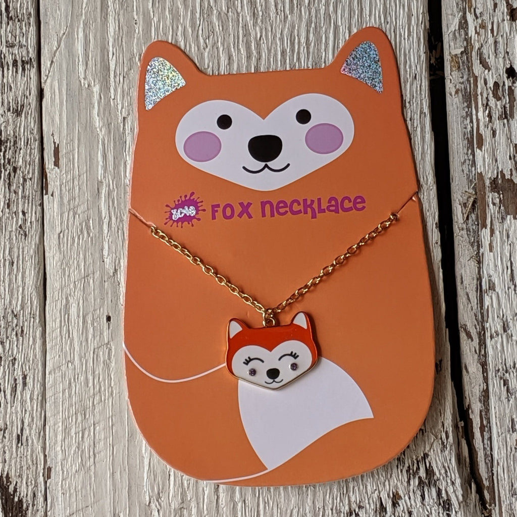 fox necklace three cheers for girls