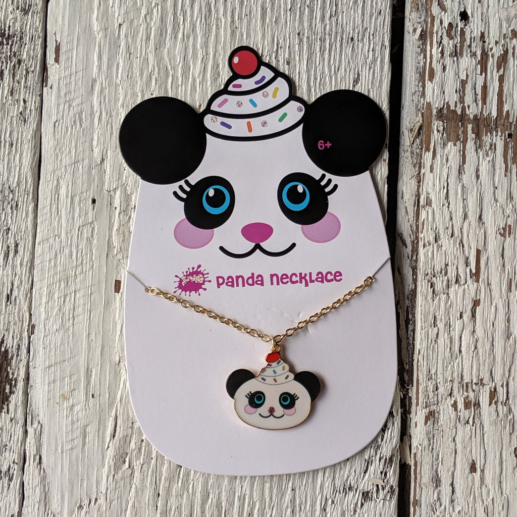 panda necklace three cheers for girls