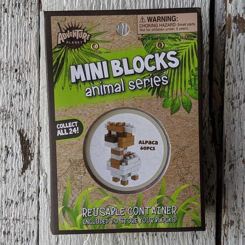 Alpaca Mini Blocks