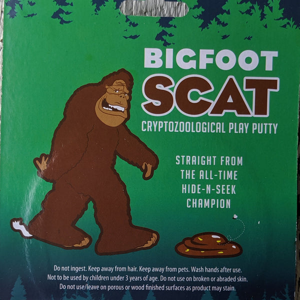 Bigfoot Scat Play Putty