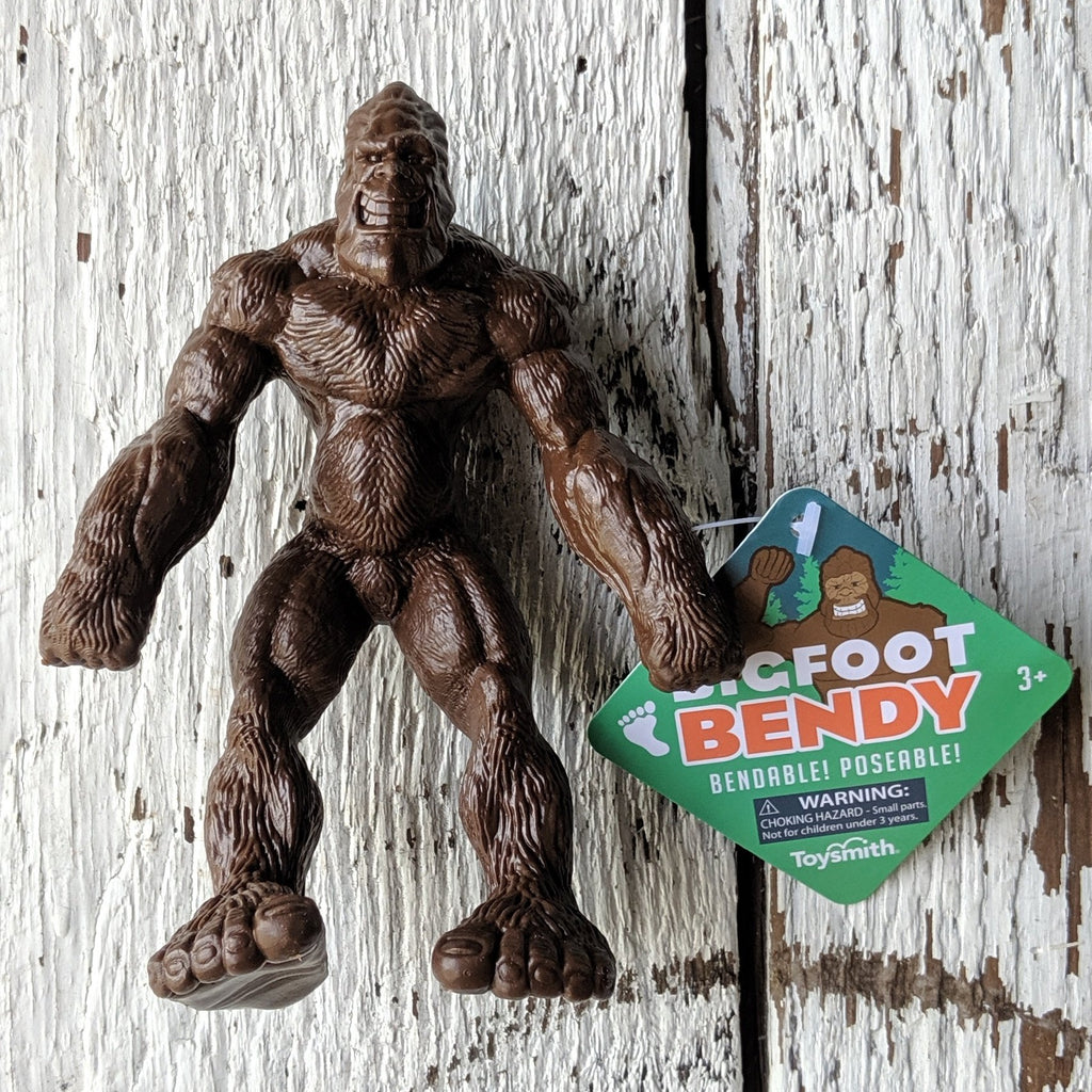 Bigfoot Bendy Toy