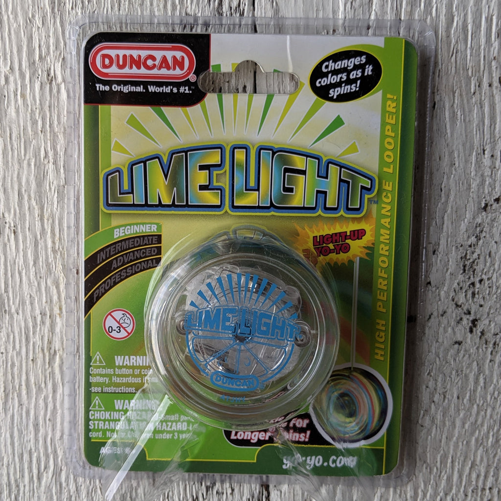Duncan Lime Light Yoyo
