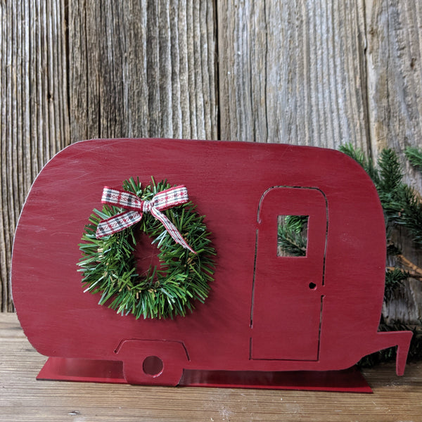 Christmas Camper Table Top Decoration