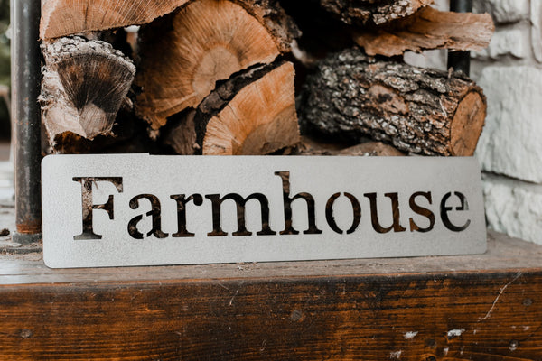 Farmhouse Metal Sign