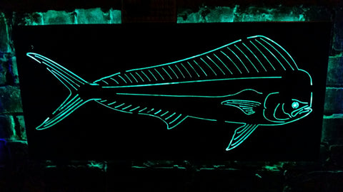 Dorado Fish LED Sign