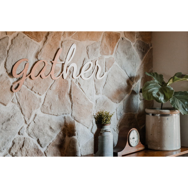 Gather Script Sign