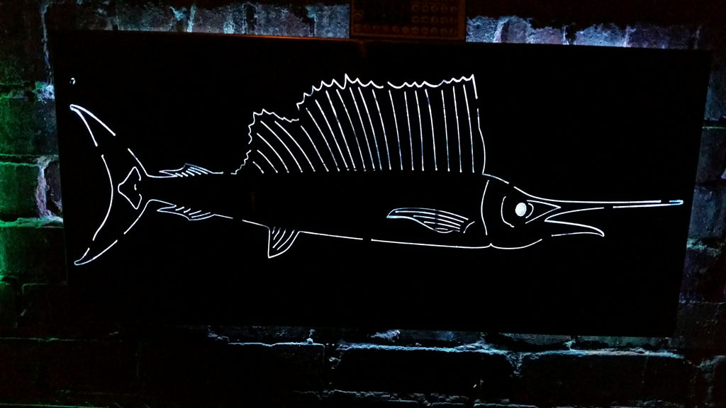 Marlin Fish LED Sign