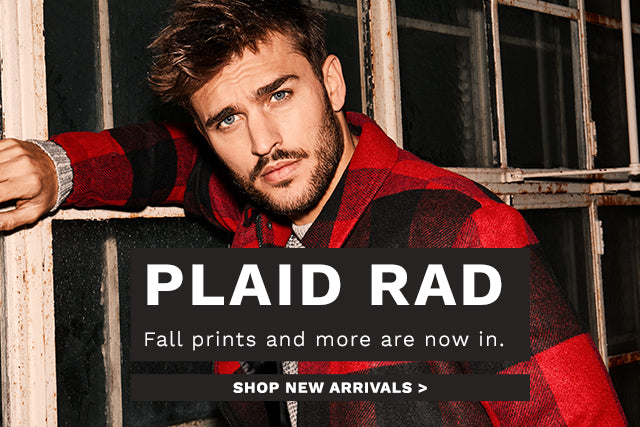 PLAID RAD NEW ARRIVALS