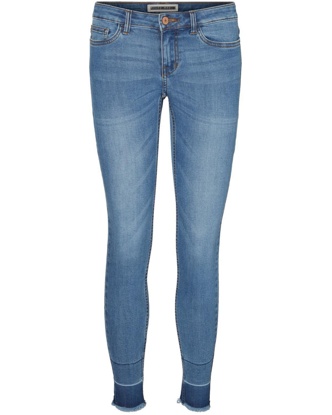 JEANS NMLUCY SUPER SLIM BLEU DENIM MOYEN