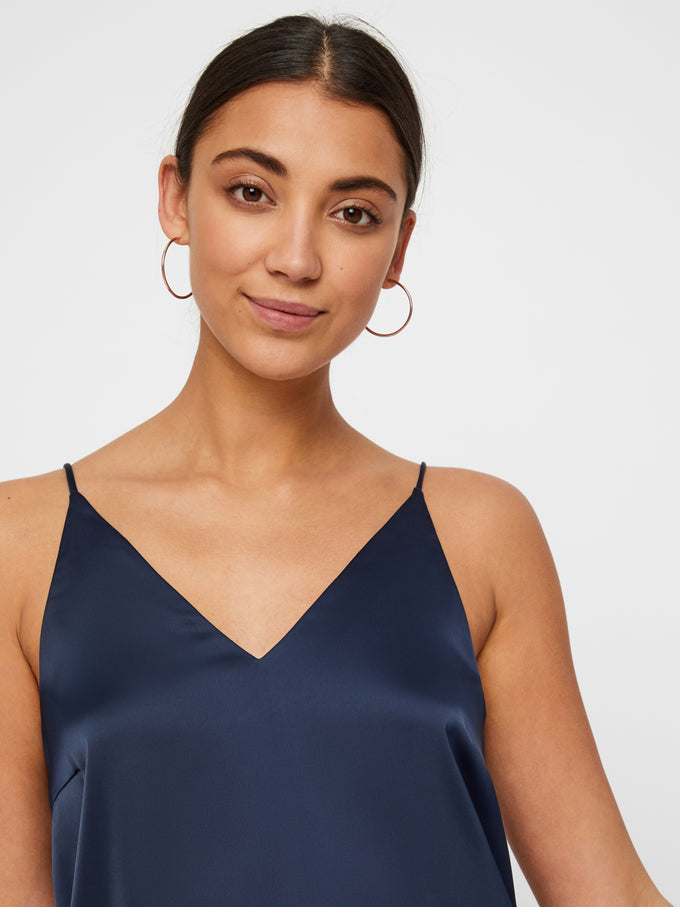 AWARE SATIN CAMI NIGHT SKY