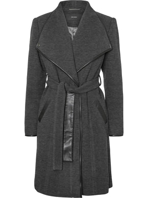 Waterfall Wool Coat