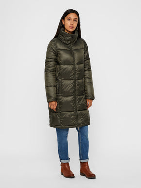 MANTEAU LONG BOUFFANT