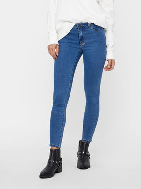 VMJULIA SOFT SLIM FIT BLUE JEGGING