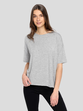 LOOSE LYOCELL T-SHIRT
