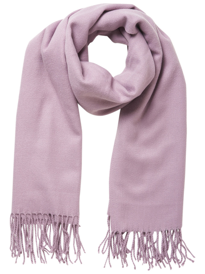 LARGE SOLID SCARF ORCHID HAZE