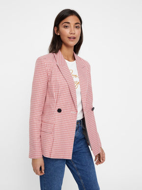COLOURFUL CHECKERED BLAZER
