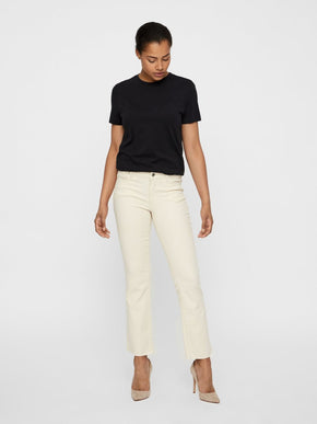 VMSHEILA RECYCLED-COTTON FLARE JEANS