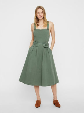 MIDI COTTON-DRESS