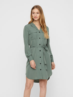 LONG SLEEVE DRESS-SHIRT