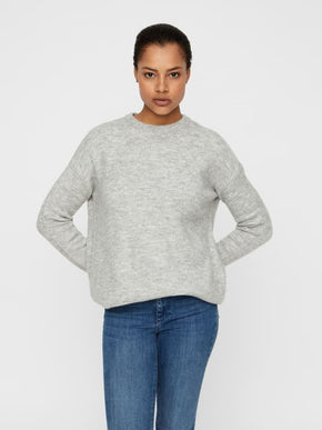 Oversized O-Neck Sweater