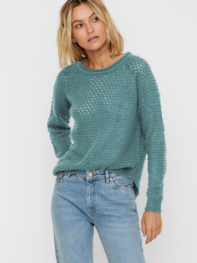 Sweater With Curved Hem NORTH ATLANTIC