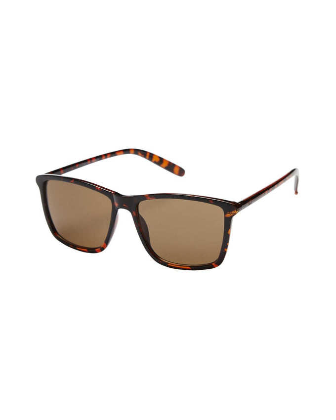 JJACJACK SUNGLASSES BLACK COGNAC