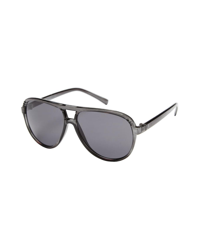 JJACJACK SUNGLASSES BLACK DARK GREY