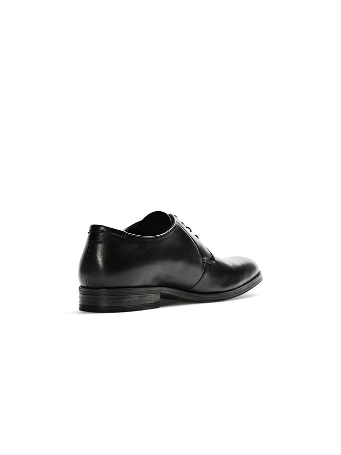 JJMAGNUS LEATHER DRESS SHOES BLACK