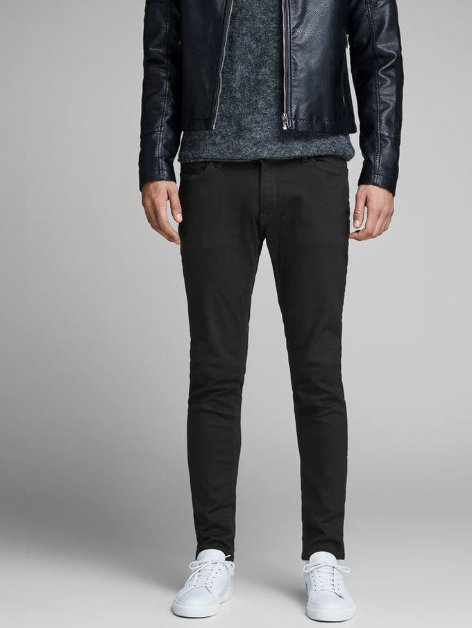 SKINNY FIT BLACK LIAM 009 JEANS BLACK DENIM