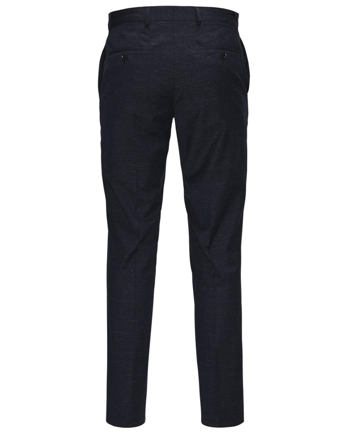 JJPRWAYNE FLECKED PANTS DARK NAVY