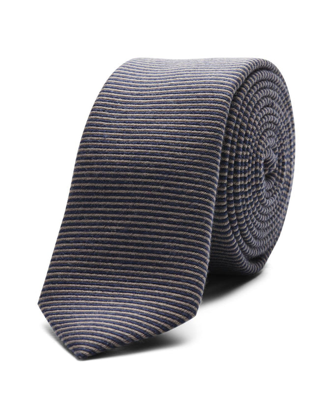JJACWASHINGTON TIE GREY MELANGE