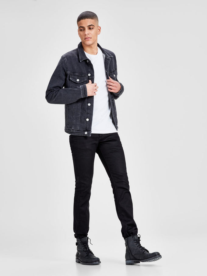 STRAIGHT FIT CLARK 935 JEANS BLACK DENIM