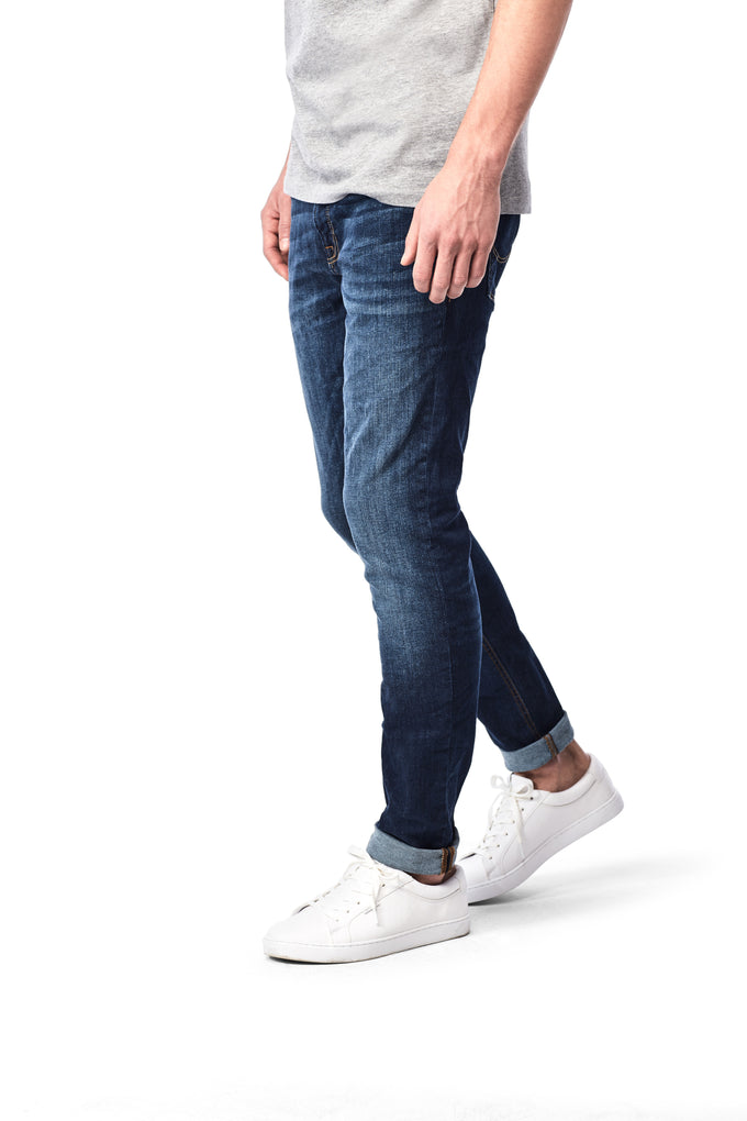 SLIM FIT TIM 014 JEANS Blue Denim