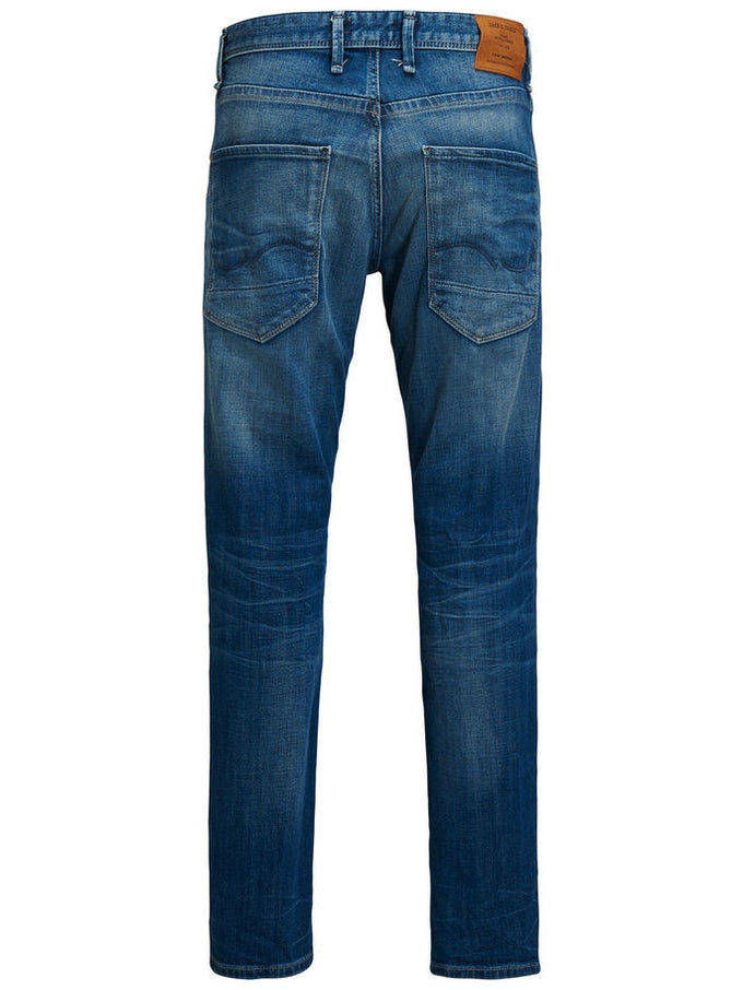 JEAN COUPE AMPLE BOXY 005 BLEU DENIM