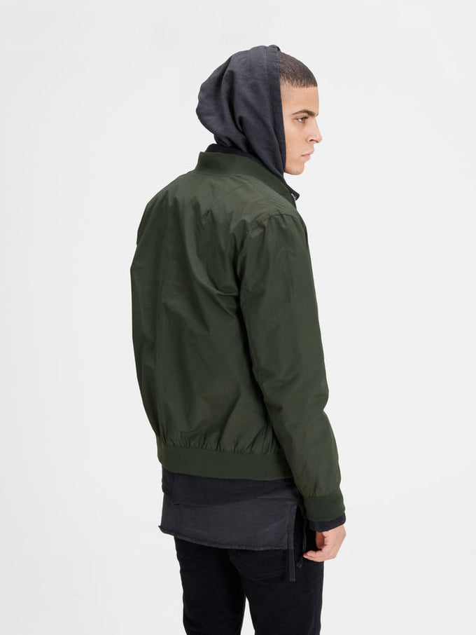 JJORPACIFIC BOMBER JACKET Rosin