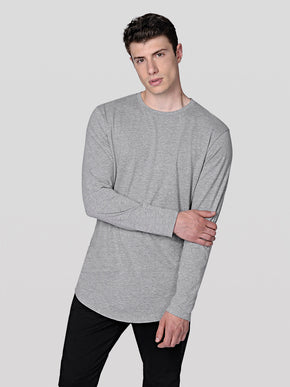 NOA BASIC LONG FIT LONG SLEEVE T-SHIRT