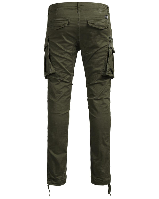 JOGGER STYLE CARGO PANTS Olive Night