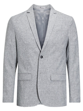 UNSTRUCTURED TWO-TONE BLAZER