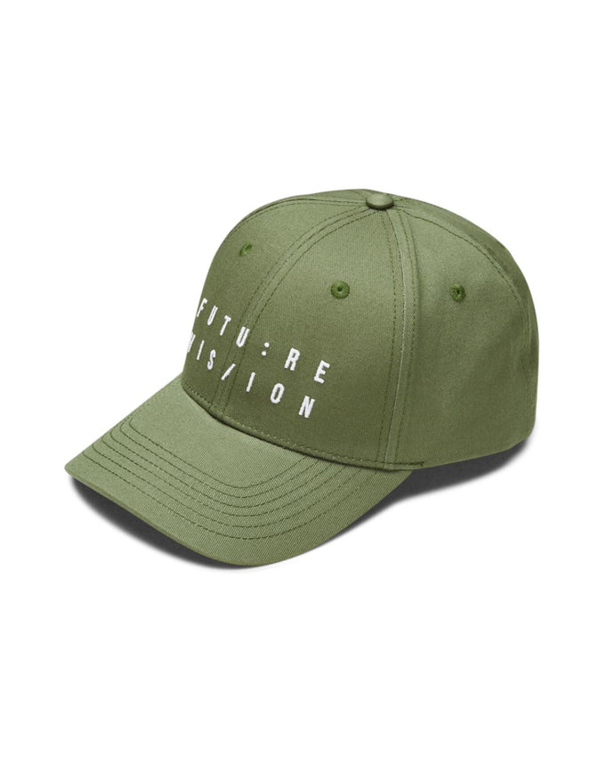 CASQUETTE SNAPBACK STYLE BASEBALL À BRODERIE OLIVE