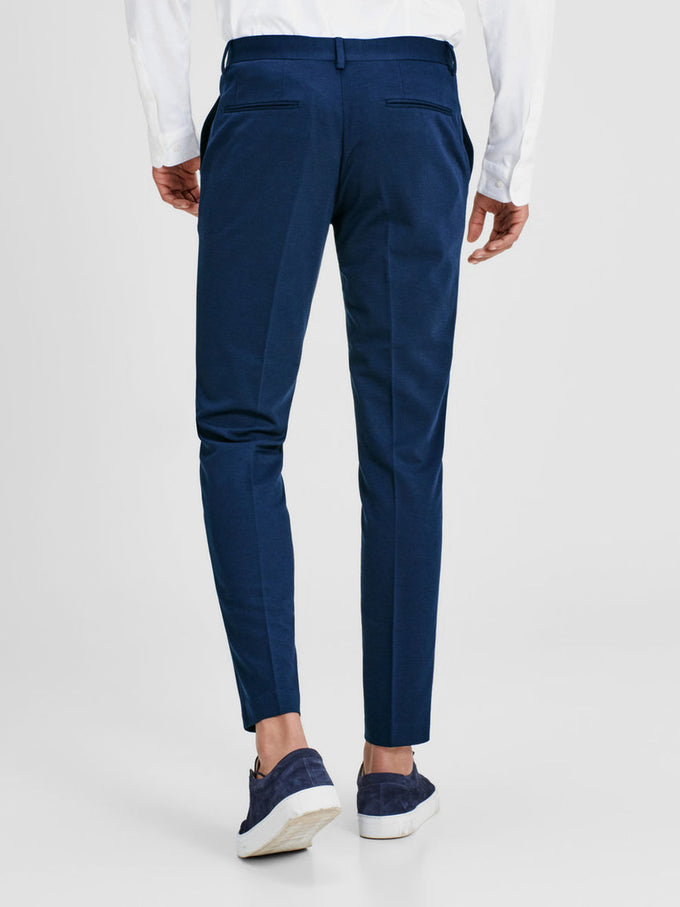 MINIMALIST STRETCH DRESS PANTS DARK NAVY