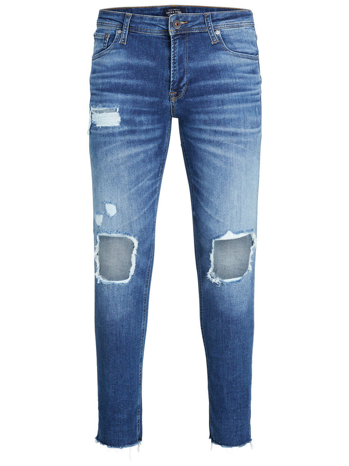 JEAN LIAM 055 À SUPER EXTENSIBLE COUPE SKINNY DENIM BLEU