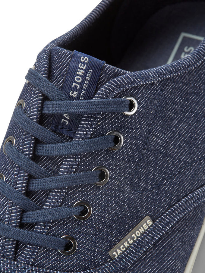 DENIM STYLE SNEAKERS NAVY BLAZER