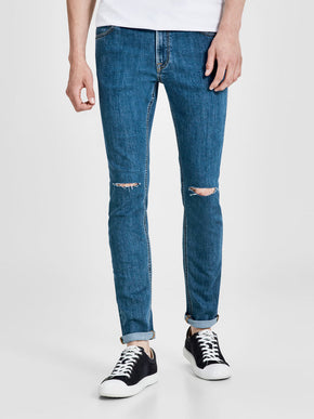 SKINNY FIT RIPPED KNEES LIAM 696 JEANS