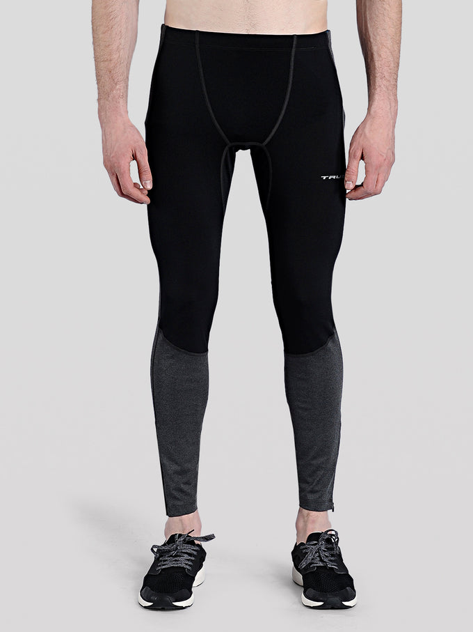 COLLANTS DE COMPRESSION À DEUX TONS TRUEXCORE NOIR