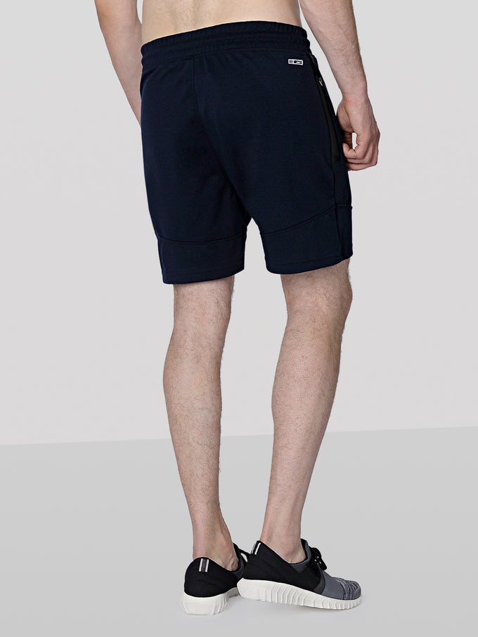 TRUEXCORE SWEAT SHORTS NAVY BLAZER