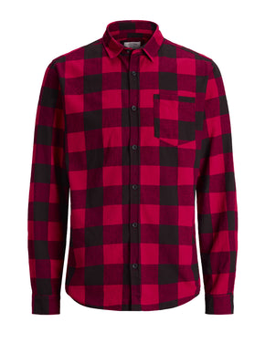 CLASSIC CHECKERED FLANNEL SHIRT