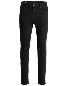 SKINNY FIT RIPPED KNEES LIAM 002 JEANS
