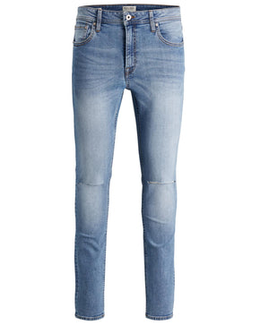 SKINNY FIT RIPPED KNEES LIAM 004 JEANS