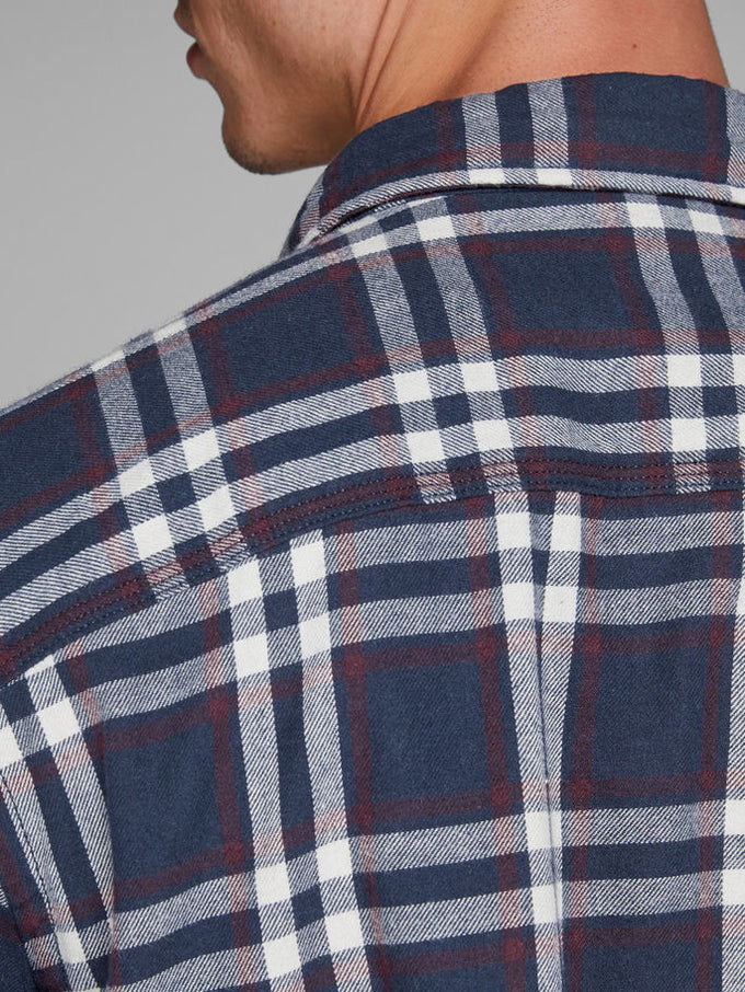 WORKWEAR STYLE FLANNEL SHIRT PORT ROYALE/CHECK